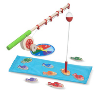 Melissa & Doug Magnetic Learning - Catch & Count Fishing Rod Set