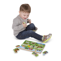 Melissa & Doug Song Puzzle - Old MacDonald's Farm 8 Pieces