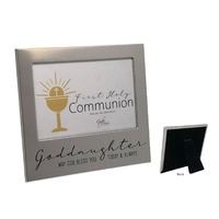 First Holy Communion Photo Frame - Goddaughter