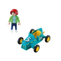 Playmobil City Life - Boy With Go-Kart