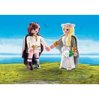 Playmobil How To Train Your Dragon 3 - Hiccup And Astrid Bridal Couple