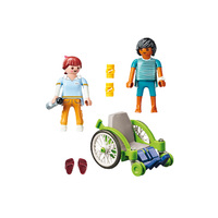 Playmobil City Life - Patient in Wheelchair