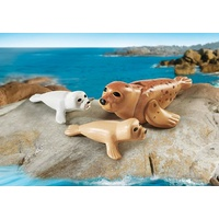 Playmobil Aquarium - Seal with Pups