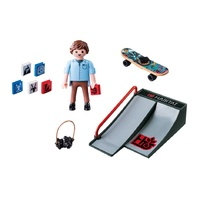 Playmobil City Life - Skateborder with Ramp