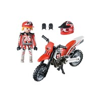 Playmobil City Life - Motocross Driver
