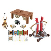 Playmobil How To Train Your Dragon - Gobber the Belch with Sheep Sling