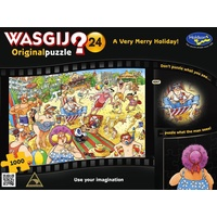 Wasgij? Puzzle 1000pc - Original 24 - Very Merry Holiday Puzzle