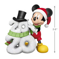 2020 Hallmark Keepsake Ornament - Disney Mickey Mouse A Year of Disney Magic 2020