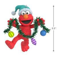 2020 Hallmark Keepsake Ornament - Sesame Street Deck the Halls With Elmo