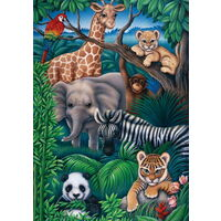 Ravensburger Puzzle 35pc - Animal Kingdom