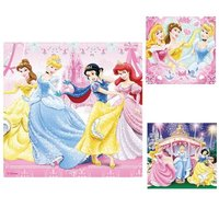 Ravensburger Puzzle 3x49pc - Disney Princess - Snow White