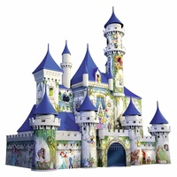 Ravensburger 3D Puzzle 216pc - Disney Princesses Castle