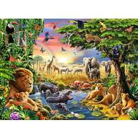 Ravensburger Puzzle 300pc - At the Watering Hole