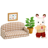 Sylvanian Families - Chocolate Rabbit Father Set