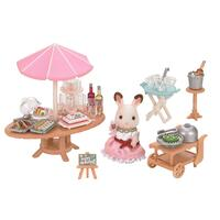 Sylvanian Families - Seaside Birthday Party Set