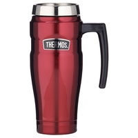 Thermos Stainless King Travel Mug 470ml Red