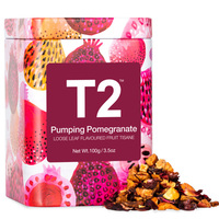 T2 Loose Tea 100g Gift Tin - Pumping Pomegranate