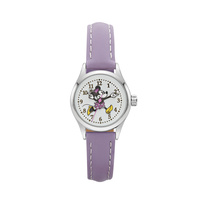 The Original Mickey Collection Watch - Minnie Mouse Silver + Lilac 25mm