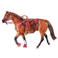 Breyer Traditional - 1:9 Western Riding Set - Red