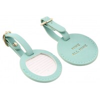 Willow & Rose Luggage Tag - Mint