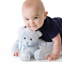 Gund Baby - My First Teddy Blue Small