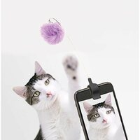 Kitty Phone Clip - Purple