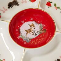 Disney Christmas By Widdop And Co Serving Plate - Bambi