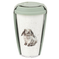 Royal Worcester Wrendale Rosie Rabbit Travel Mug