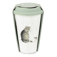 Royal Worcester Wrendale Cat and Mouse Travel Mug
