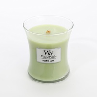 WoodWick Medium Candle - Green Tea & Lime