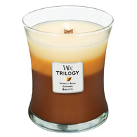 WoodWick Medium Trilogy Candle - Cafe Sweets