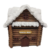 Solar Christmas Village - North Pole Mail Box