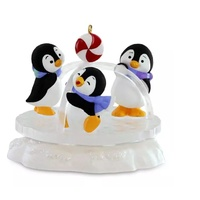 2016 Hallmark Keepsake Ornament - Playground Pals Penguins