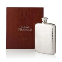 Royal Selangor Hip Flask in Wooden Gift Box - 140ml