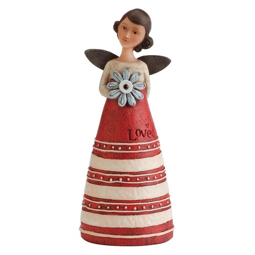 Kelly Rae Roberts Birthday Wish Angel - January