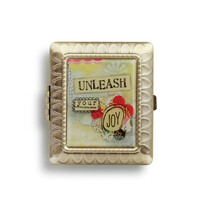 Kelly Rae Roberts Compact Mirror - Unleash Your Joy