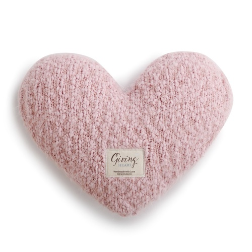 Demdaco Giving Heart Pillow - Pink