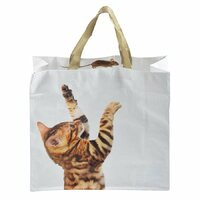 Animal Shopping Bag - Cat and Mouse
