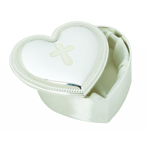 Roman Inc Caroline Collection - Heart Shaped Keepsake Box