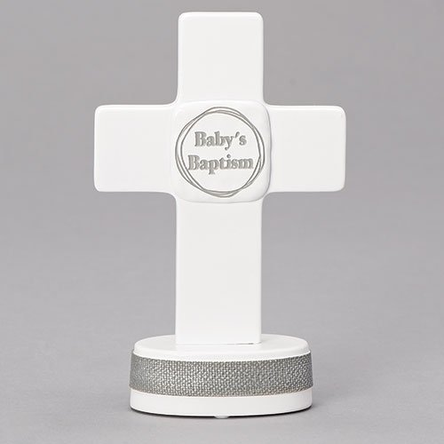 Roman Inc Baby's Baptism Table Cross