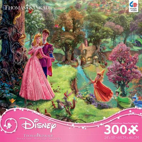 Thomas Kinkade Disney Princess 300 Oversized Piece Puzzle - Sleeping Beauty