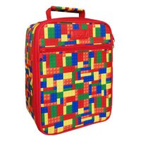 Sachi Insulated Kids Lunch Tote - Bricks