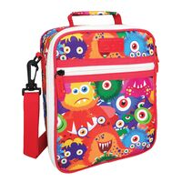 Sachi Insulated Kids Lunch Tote - Monsters