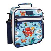 Sachi Insulated Kids Lunch Tote - Pirate Bay