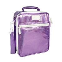 Sachi Insulated Kids Lunch Tote - Lustre Purple