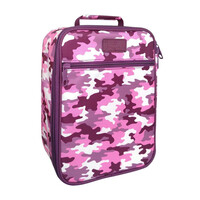 Sachi Insulated Kids Lunch Tote - Camo Pink
