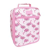 Sachi Insulated Kids Lunch Tote - Flamingos