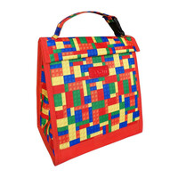 Sachi Insulated Kids Lunch Pouch - Bricks