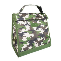 Sachi Insulated Kids Lunch Pouch - Camo Green