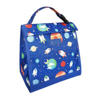 Sachi Insulated Kids Lunch Pouch - Outer Space